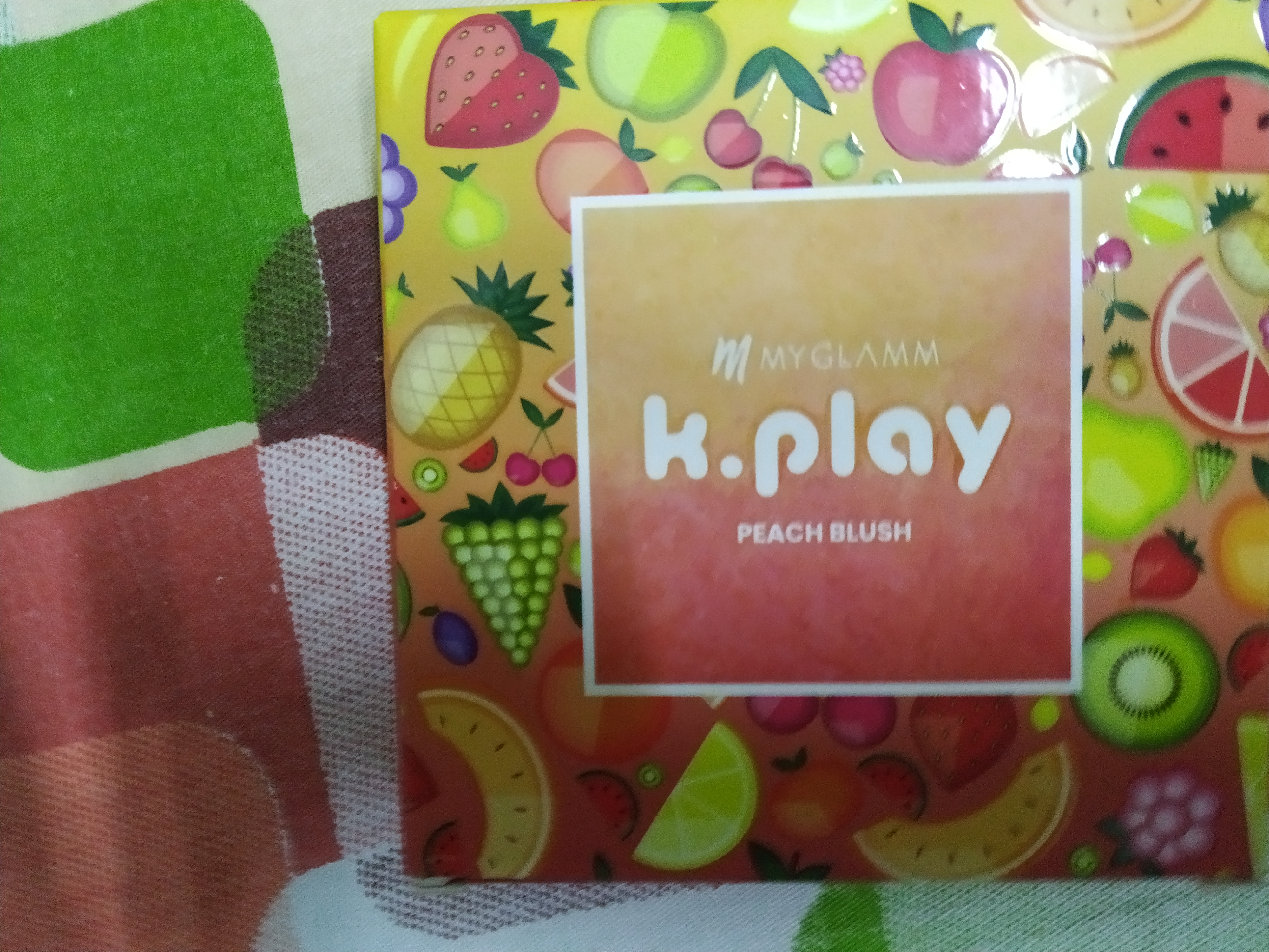 MyGlamm K.PLAY FLAVOURED BLUSH – SWEET PEACH-Awesome colour-By sukanya_sarkar_vlogs-3