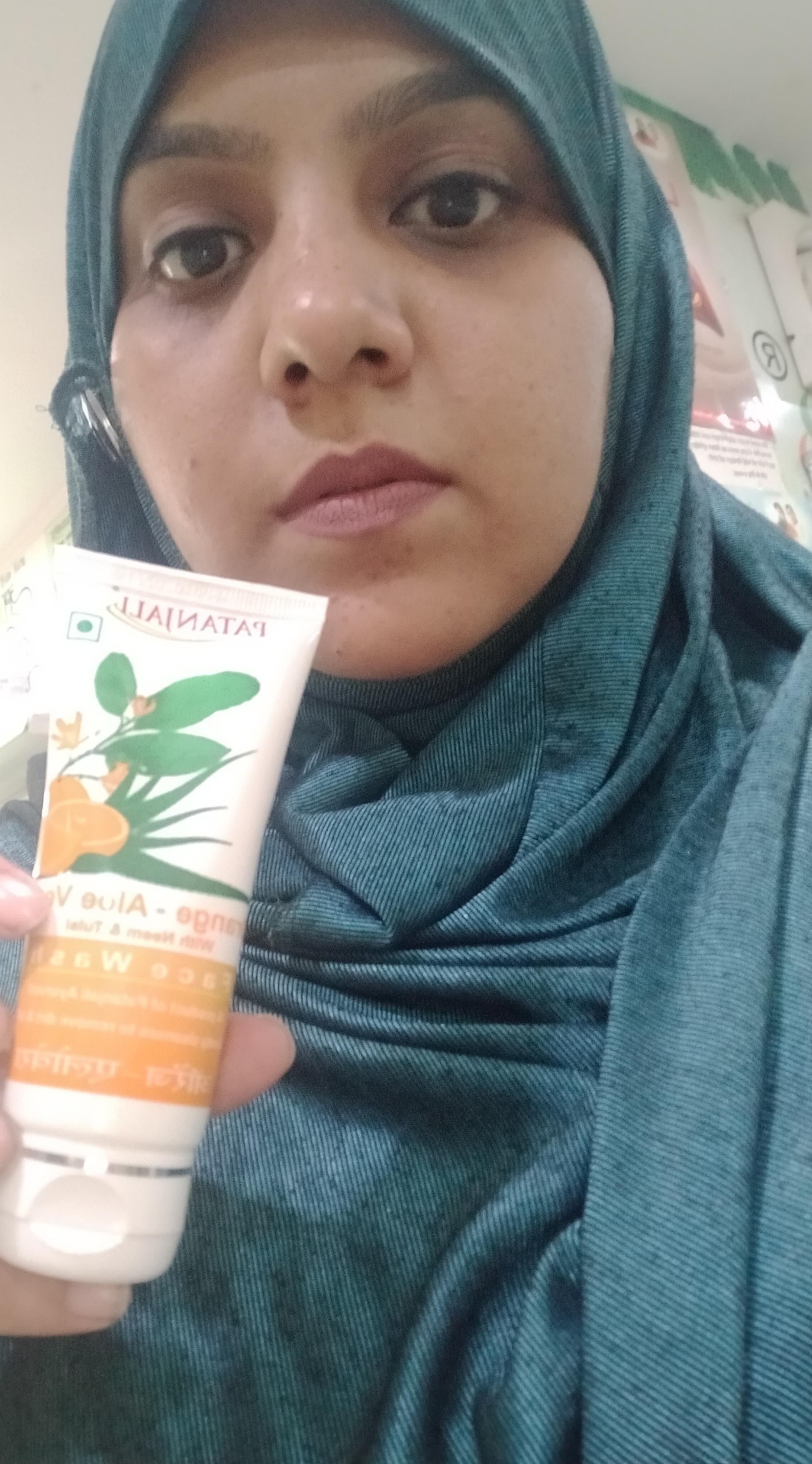 Patanjali Orange Aloe Vera Face Wash-Orange aloe face wash-By sanober-2