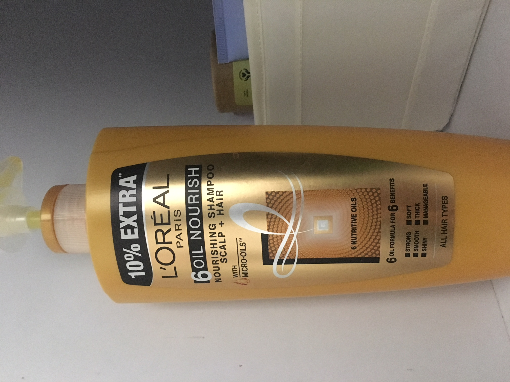 L'Oreal Paris 6 Oil Nourish Shampoo-leaves the hair very silky, but not ideal for combating naturally oily scalp and hair-By prernakapur