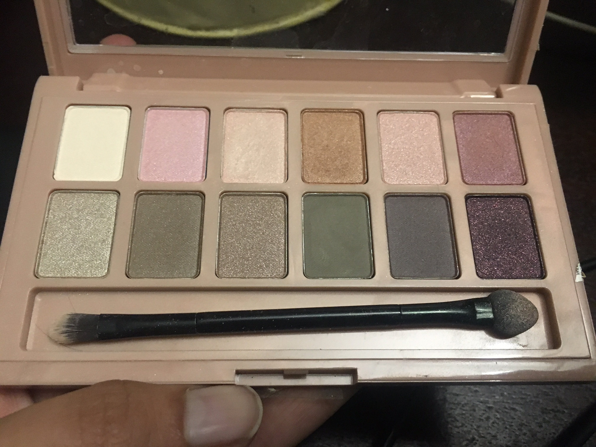 Maybelline New York The Blushed Nudes Palette-Good product-By prernakapur-2