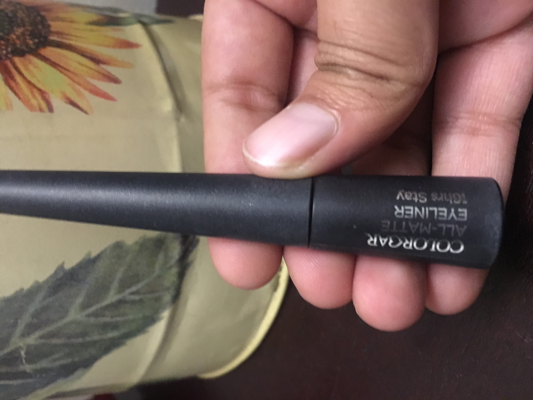 Colorbar All Matte Eyeliner-Just okay-By prernakapur