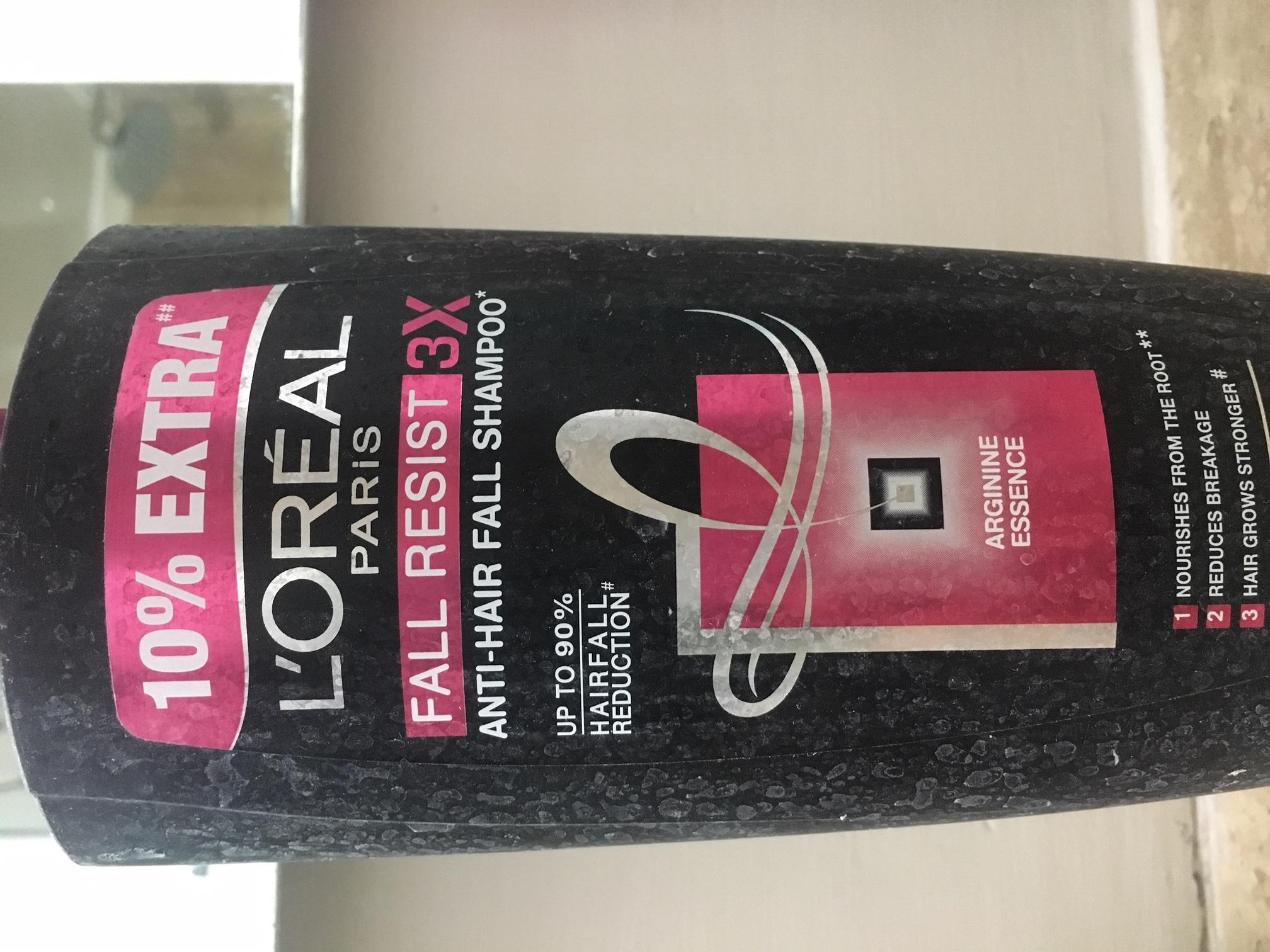 L'Oreal Paris Fall Resist 3x Anti Hair Fall Shampoo-Did not stop hair fall-By prernakapur