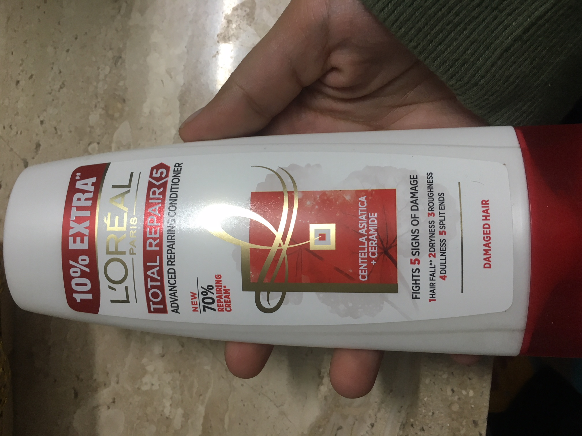 L'Oreal Paris Total Repair 5 Conditioner-Nice conditioner-By prernakapur