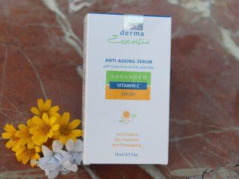 Derma Essentia Advanced Vitamin C Anti-Ageing Serum pic 1-Best facial serum with vitamin C, hyaluronic acid and ceramides-By niharikadubey
