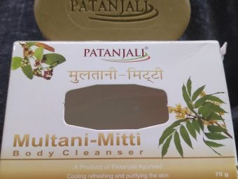 Patanjali Multani Mitti Body Cleanser Soap pic 2-Multani mitti soap-By sanober