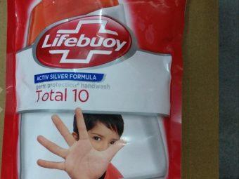 Lifebuoy Total 10 Hand Wash -Gud hand wash-By kanu_pathania