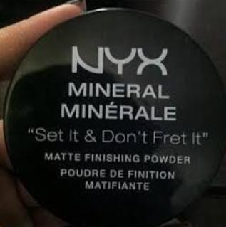 NYX Professional Makeup Mineral Matte Finishing Powder -Cruelty free-By hs_saduf