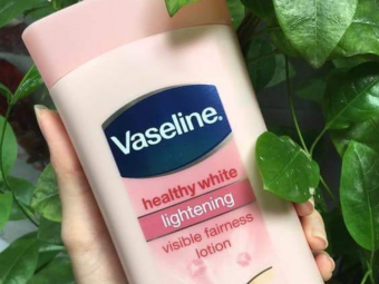Vaseline Healthy White Lightening Body Lotion -Leaves a white cast-By ariba