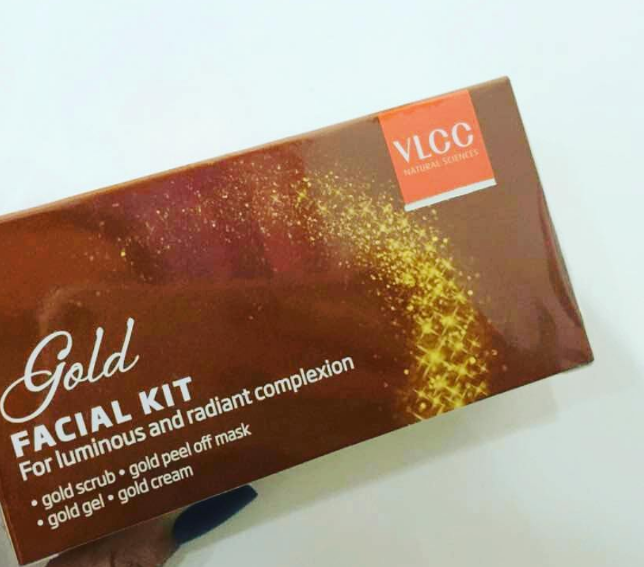 VLCC Gold Facial Kit -Good for bridal-By ariba