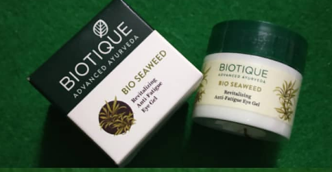 Biotique Bio Seaweed Revitalizing Anti Fatigue Eye Gel-Great for fatigued eyes-By ariba