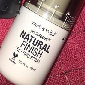 Wet N Wild Photofocus Natural Finish Setting Spray-Wet n wild setting spray-By ariba
