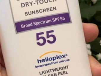 Neutrogena Ultra Sheer Dry Touch Sunscreen Broad Spectrum SPF 55 -Great sunscreen-By ariba