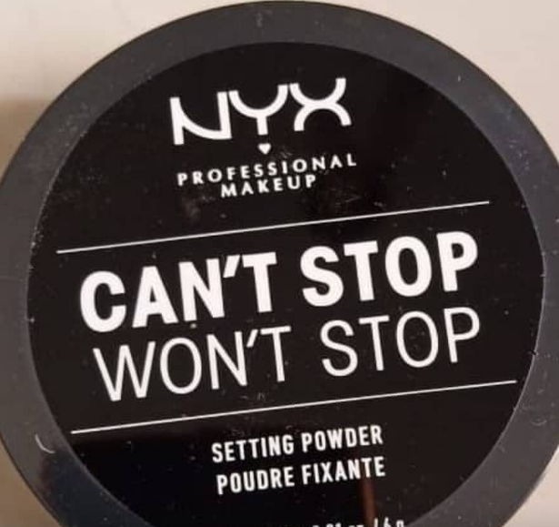 NYX Professional Makeup Mineral Matte Finishing Powder-Good for baking and setting-By ariba