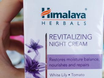 Himalaya Herbals Revitalizing Night Cream -Helps in revitalizing skin-By ariba