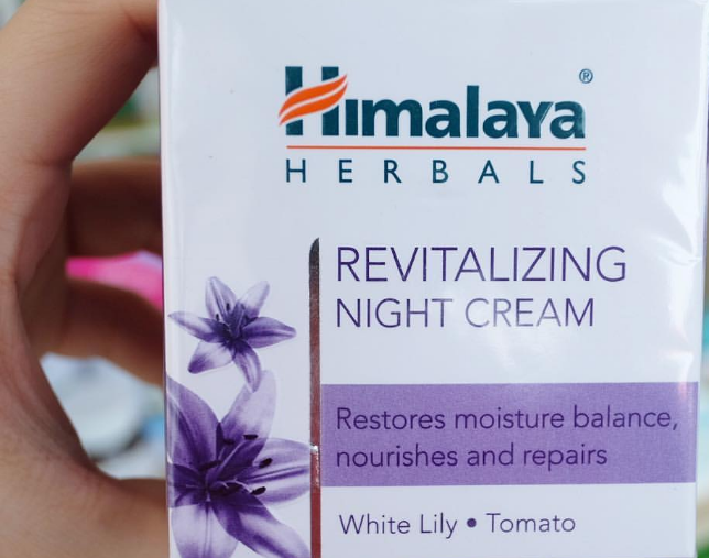 Himalaya Herbals Revitalizing Night Cream-Helps in revitalizing skin-By ariba