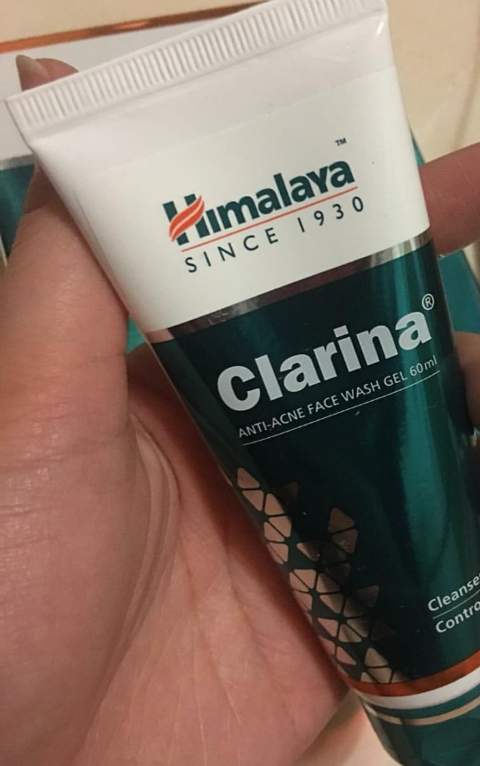 Himalaya Clarina Anti-Acne Face Wash Gel -Himalaya clarina face wash-By ariba