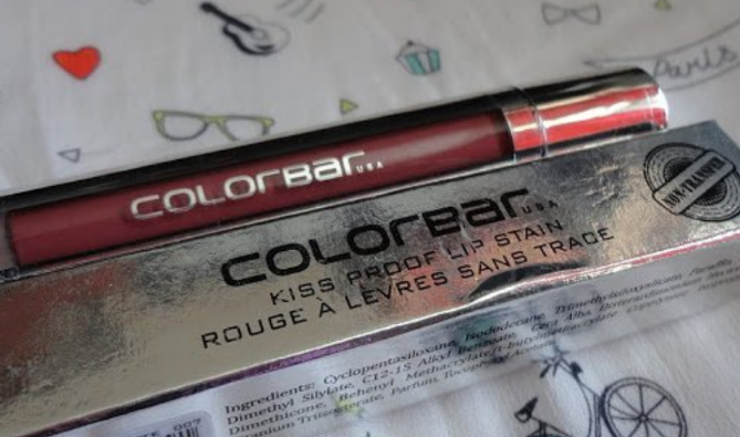 Colorbar Kiss Proof Lip Stain-Kiss proof lip stain-By ariba