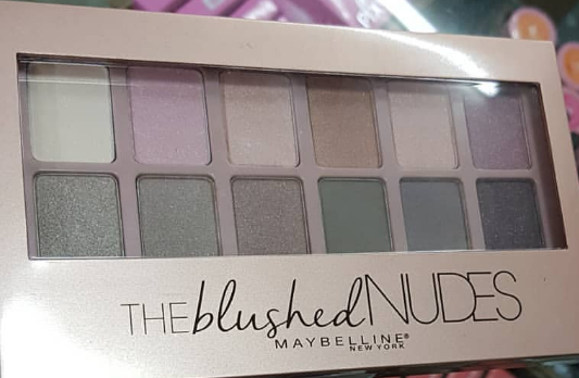 Maybelline New York The Blushed Nudes Palette-Blushed nudes eyeshadow palette-By ariba