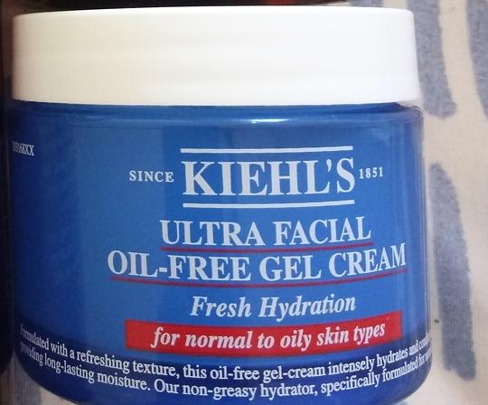 Kiehl'S Ultra Facial Oil Free Gel Cream -Oil free cream-By ariba