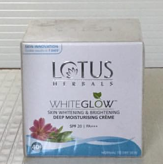 Lotus Herbals Whiteglow Skin Whitening And Brightening Massage Cream-Whitening cream-By ariba