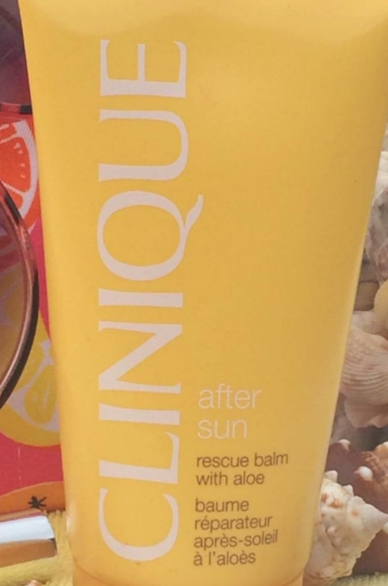 Clinique After Sun Rescue Balm With Aloe-Literally comes to rescue your skin-By ariba