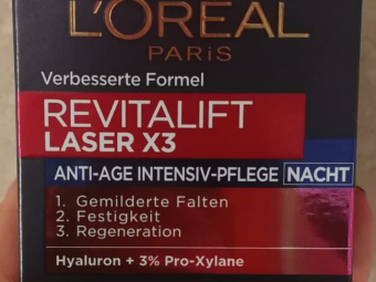 L'Oreal Revitalift Laser X3 Day Cream -Great anti ageing product-By ariba