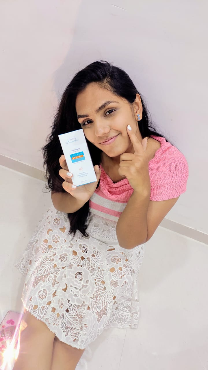 Derma Essentia Sunscreen Gel-. I generally apply sunscreen after taking a bath every day irrespective of going out in the sun or not-By lavishkaa-3