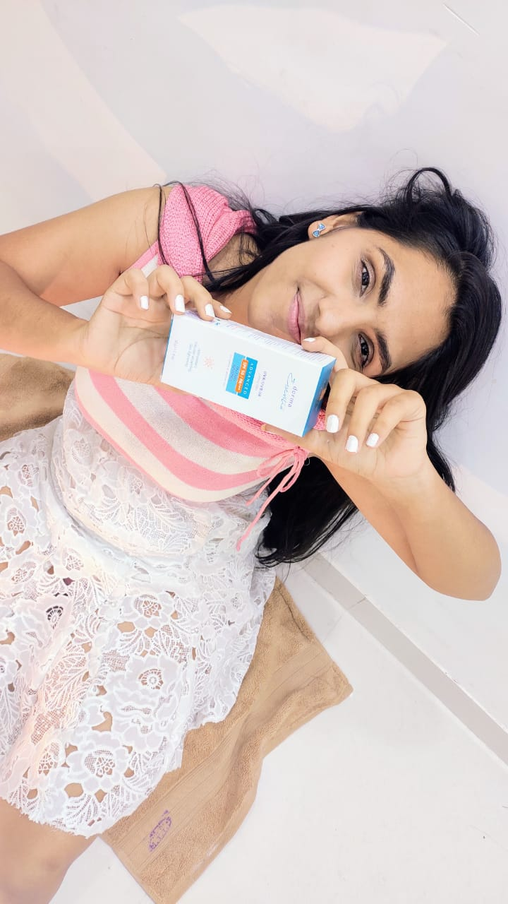 Derma Essentia Sunscreen Gel-. I generally apply sunscreen after taking a bath every day irrespective of going out in the sun or not-By lavishkaa-1