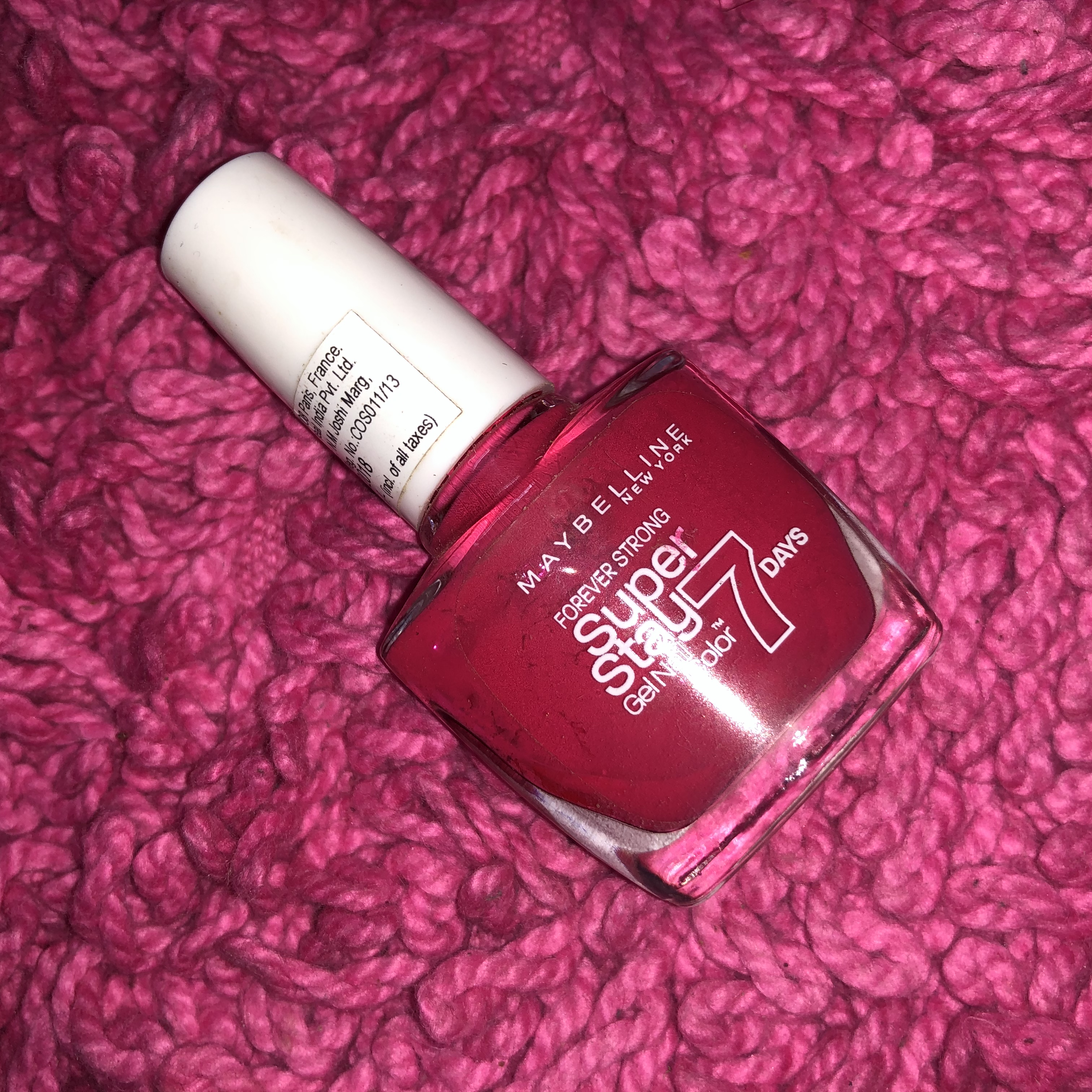 Maybelline New York Forever Strong Super Stay 7 Days Gel Nail Color-Best nail polish ever-By aishwaryaaaa