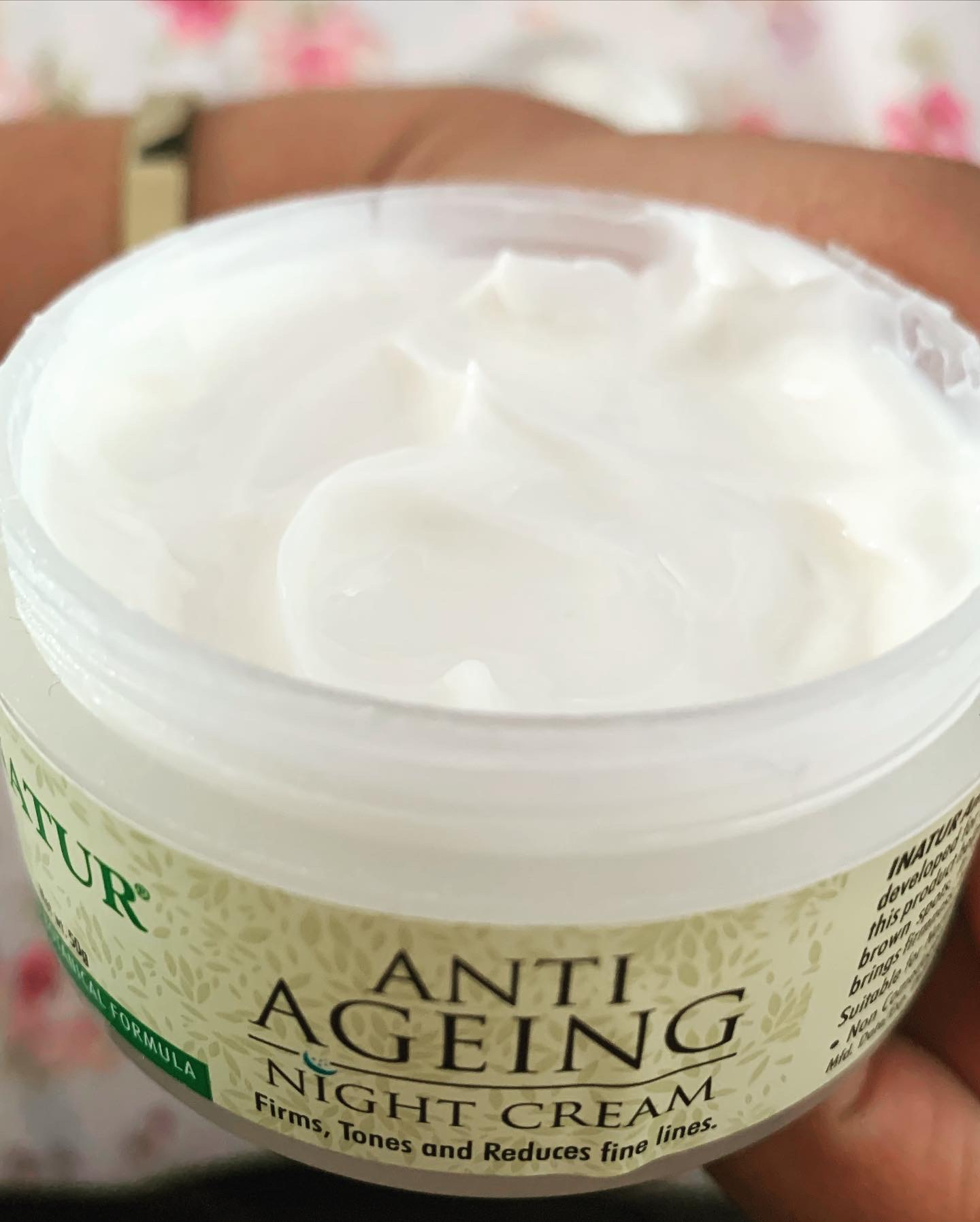 Inatur Anti-Ageing Night Cream pic 1-Nature night cream-By shivanika_dhami