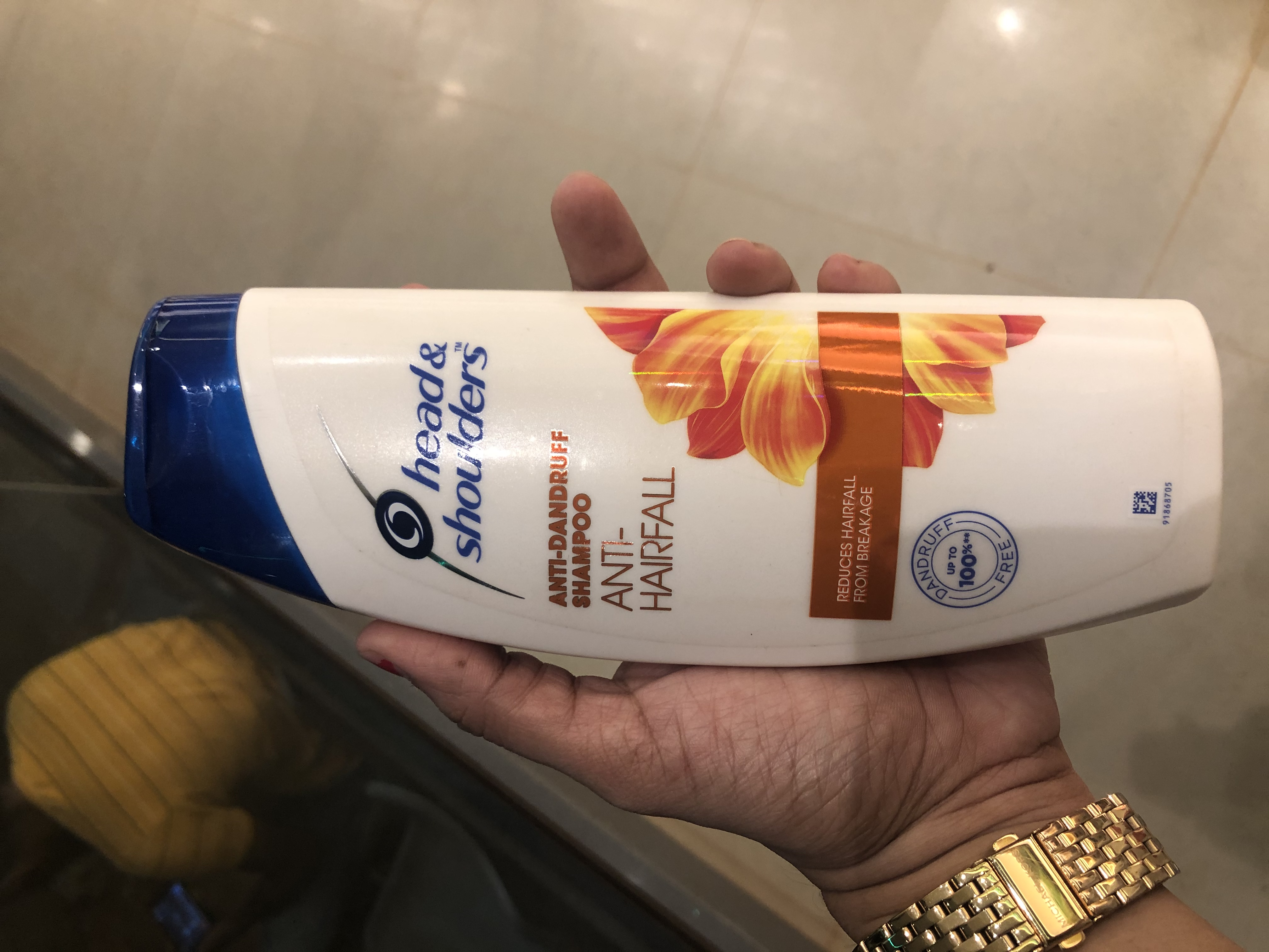 Head And Shoulders Anti Hair Fall Shampoo-Best solution for hair fall..-By divyakiran