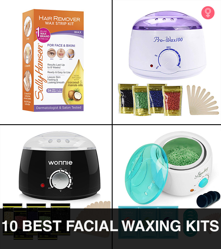 10 Best Home Facial Waxing Kits For Hair Removal Of 2020