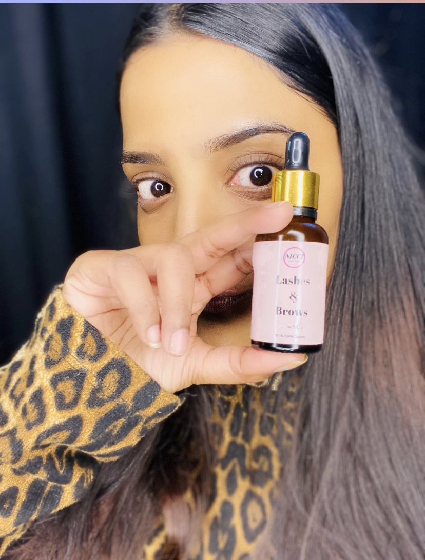 Nicci Lashes & Brows Growth Oil pic 1-NICCI LASHES & BROWS GROWTH OIL-By muskaan1118_mua