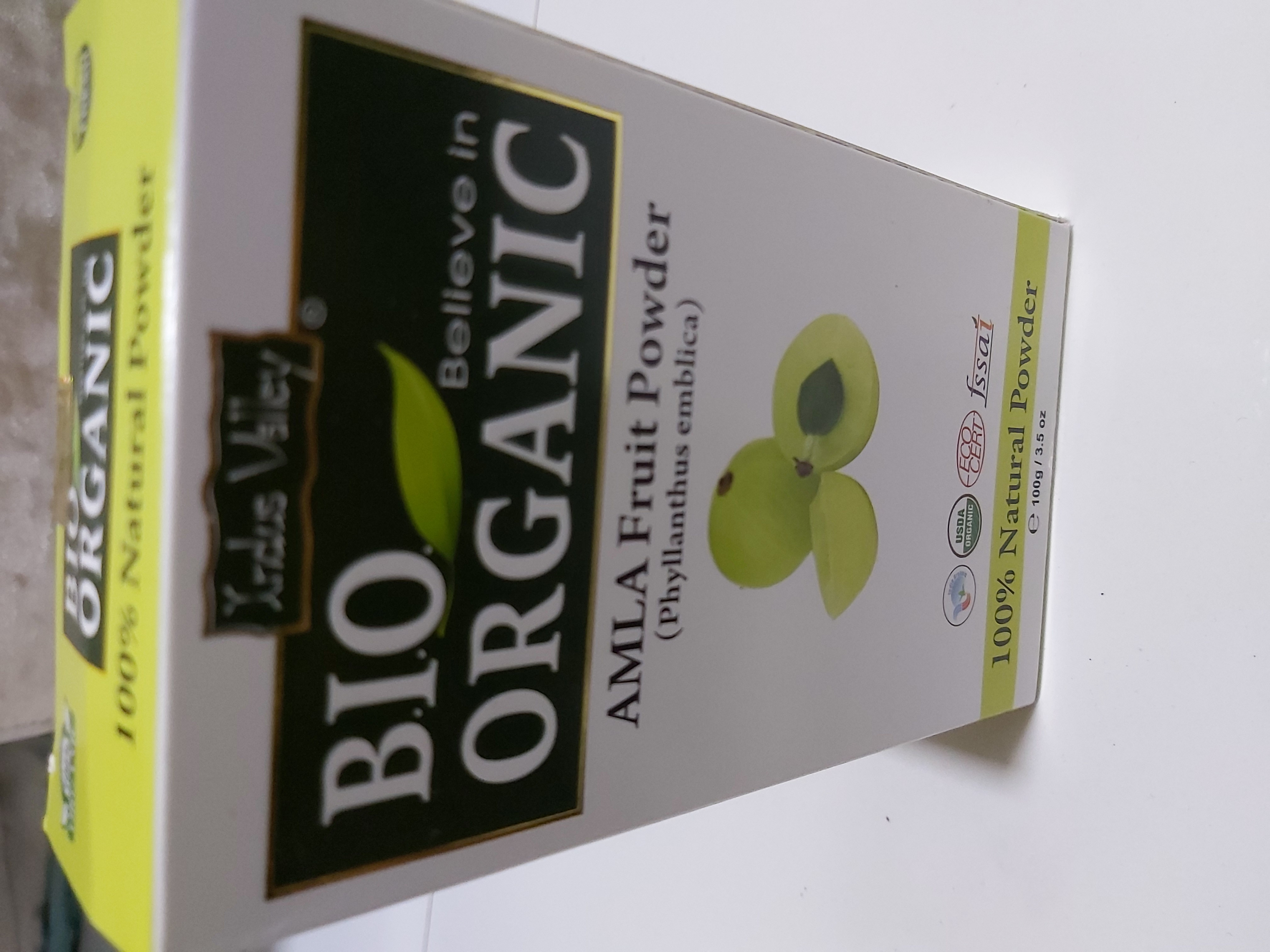 Indus Valley Bio Organic 100% Natural Amla Powder-Highly Recommended-By sneha_doshi