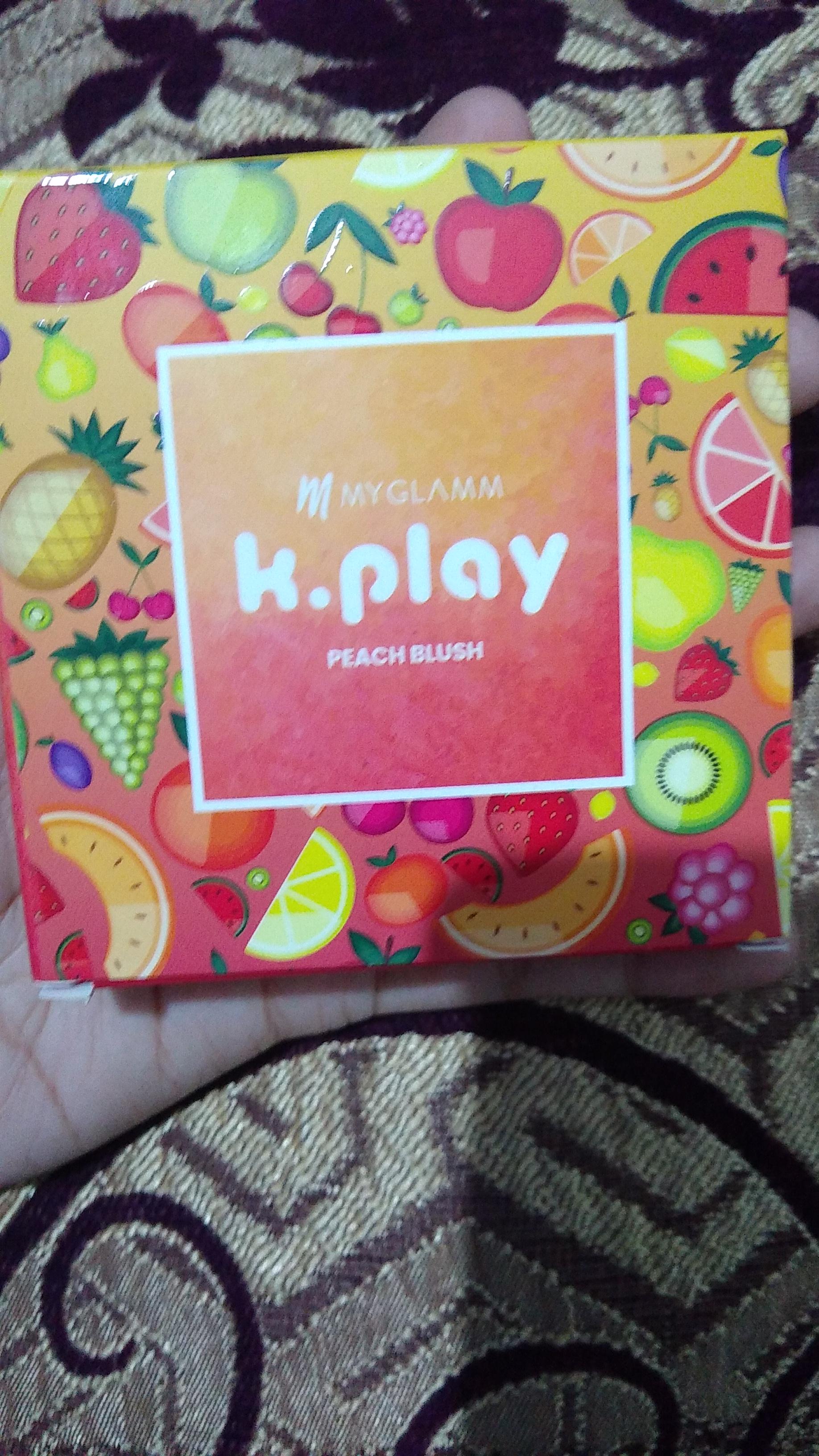 MyGlamm K.PLAY FLAVOURED BLUSH – SWEET PEACH-Matte peachy blush-By lilgirl27