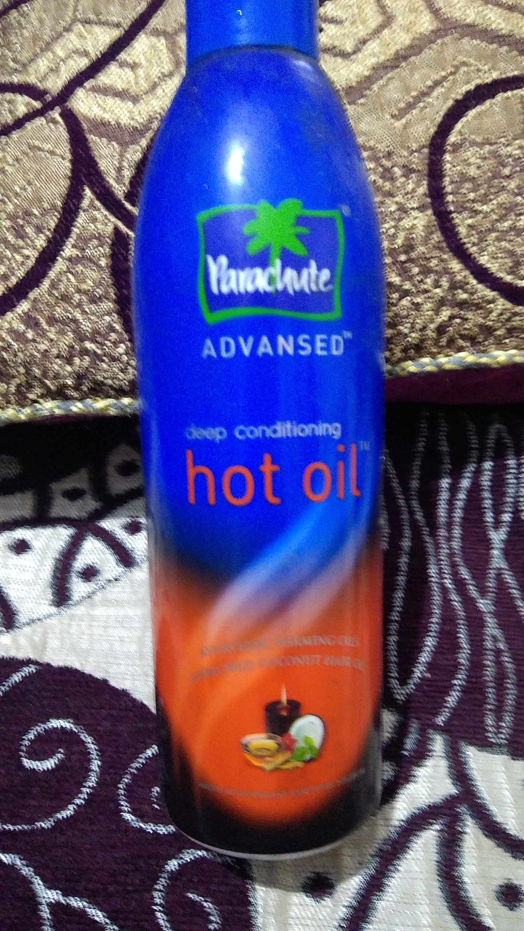 Parachute Advansed Ayurvedic Hot Oil-Hot oil therapy-By lilgirl27