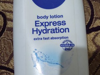 Nivea Express Hydration Body Lotion -Best for summers-By lilgirl27