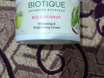 Biotique Bio Coconut Whitening & Brightening Cream -Coconut cream-By lilgirl27
