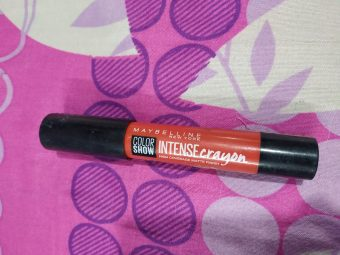 Maybelline New York Color Show Intense Crayon -Perfect for red lovers-By nilofer