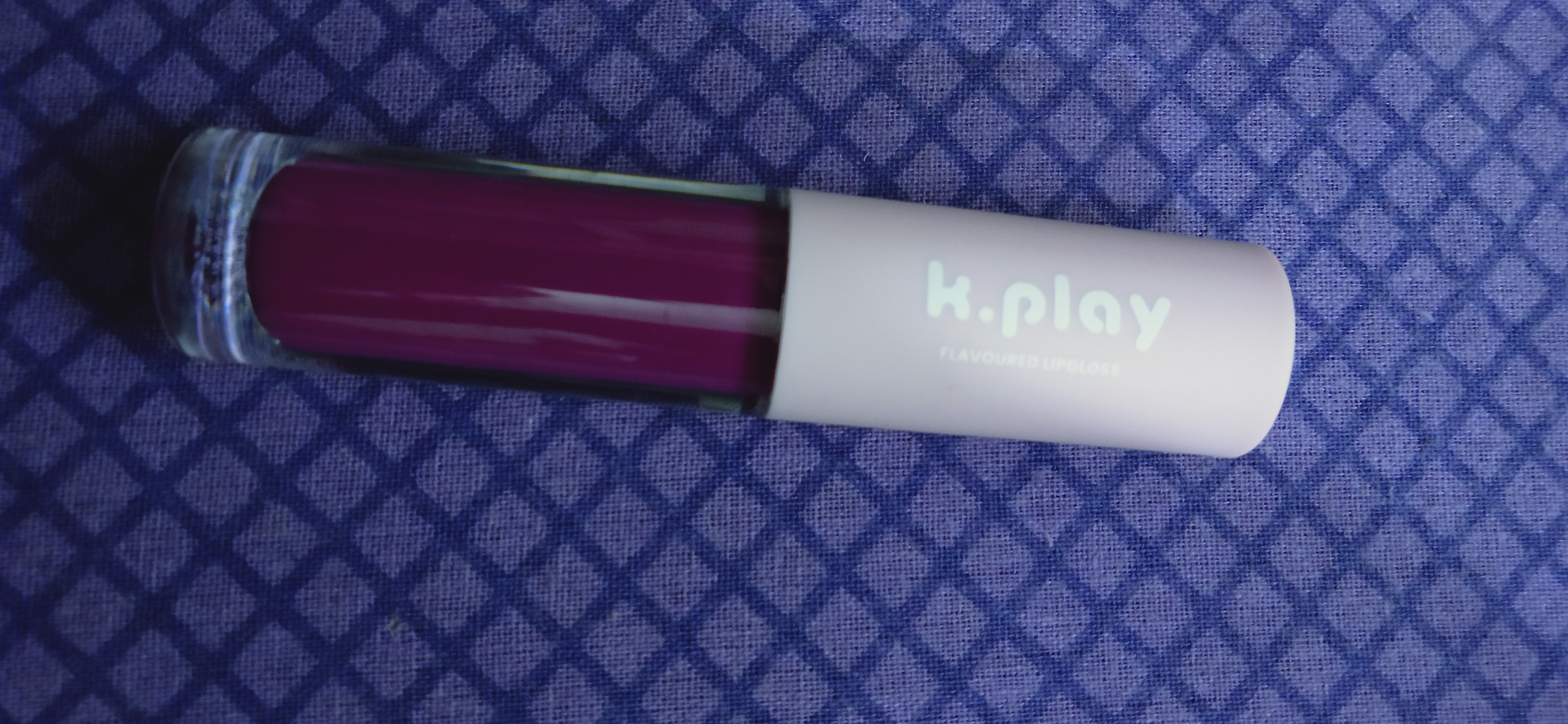 MyGlamm K.PLAY FLAVOURED LIPGLOSS – BERRY BLAST-Glossy lips-By that_browngirl-2