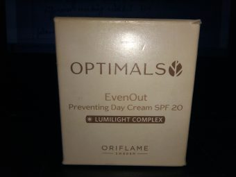 Oriflame Optimals Even Out Preventing Day Cream -Preventing day cream-By aneesha