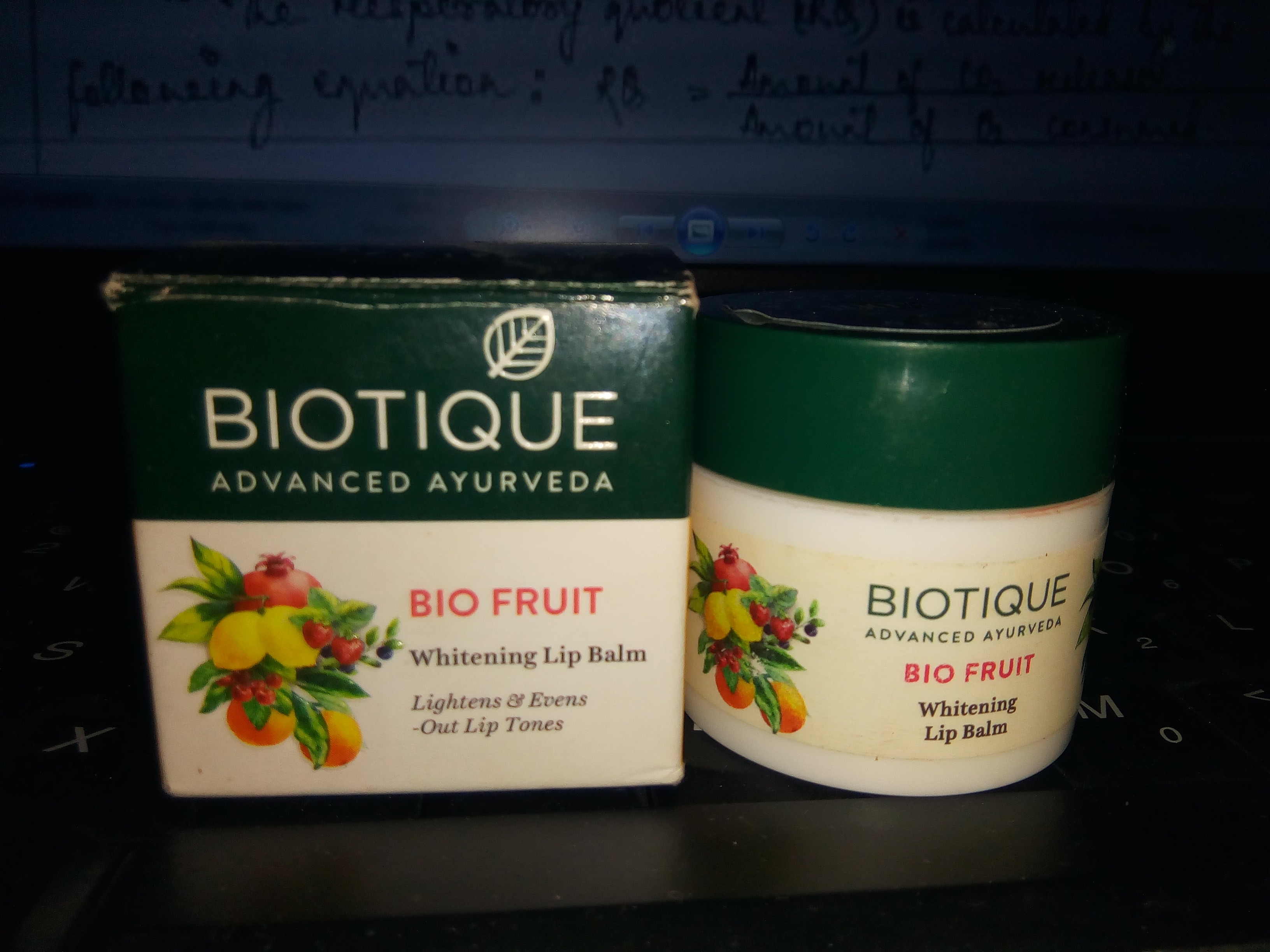 Biotique Bio Fruit Whitening Lip Balm-Fruity lip balm-By aneesha
