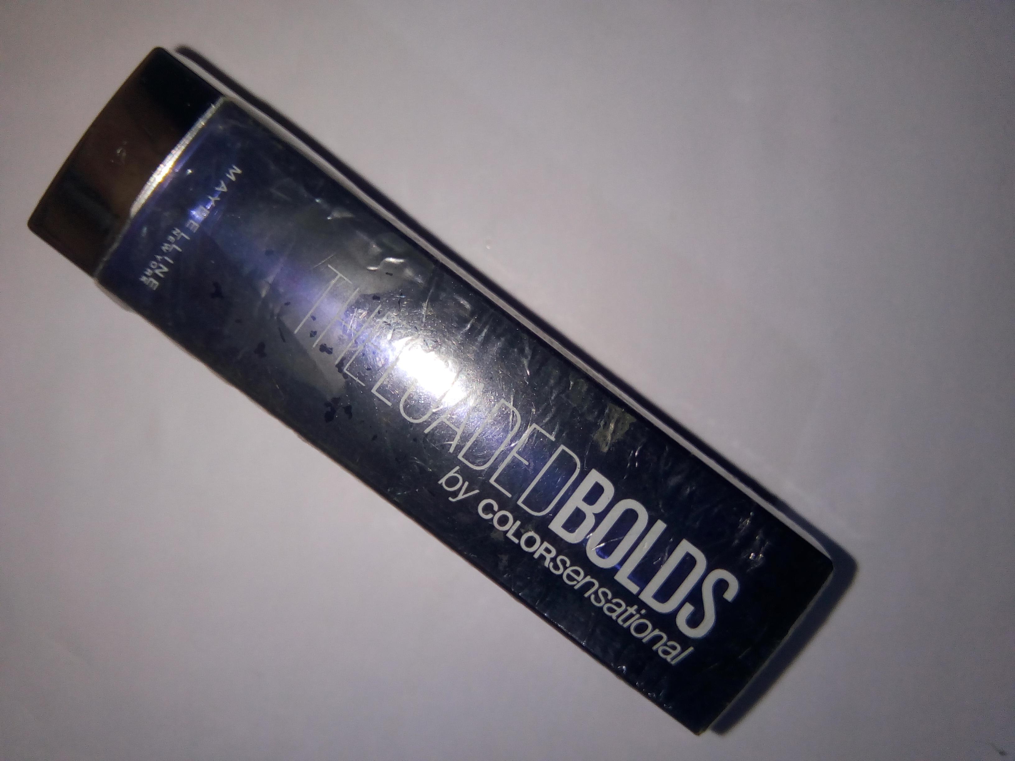 Maybelline Loaded Bolds Lipstick -Maybelline Loaded Bolds Lipstick-By aneesha