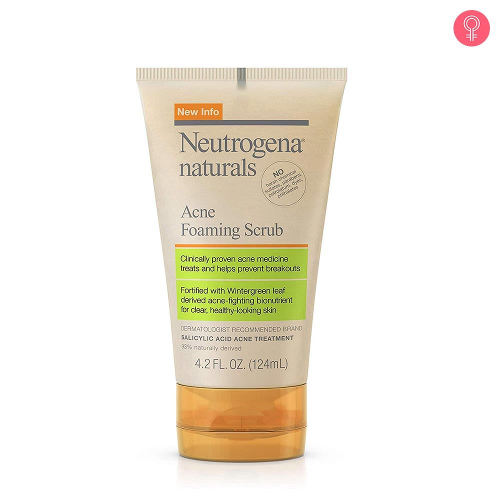 Neutrogena Naturals Acne Foaming Facial Scrub