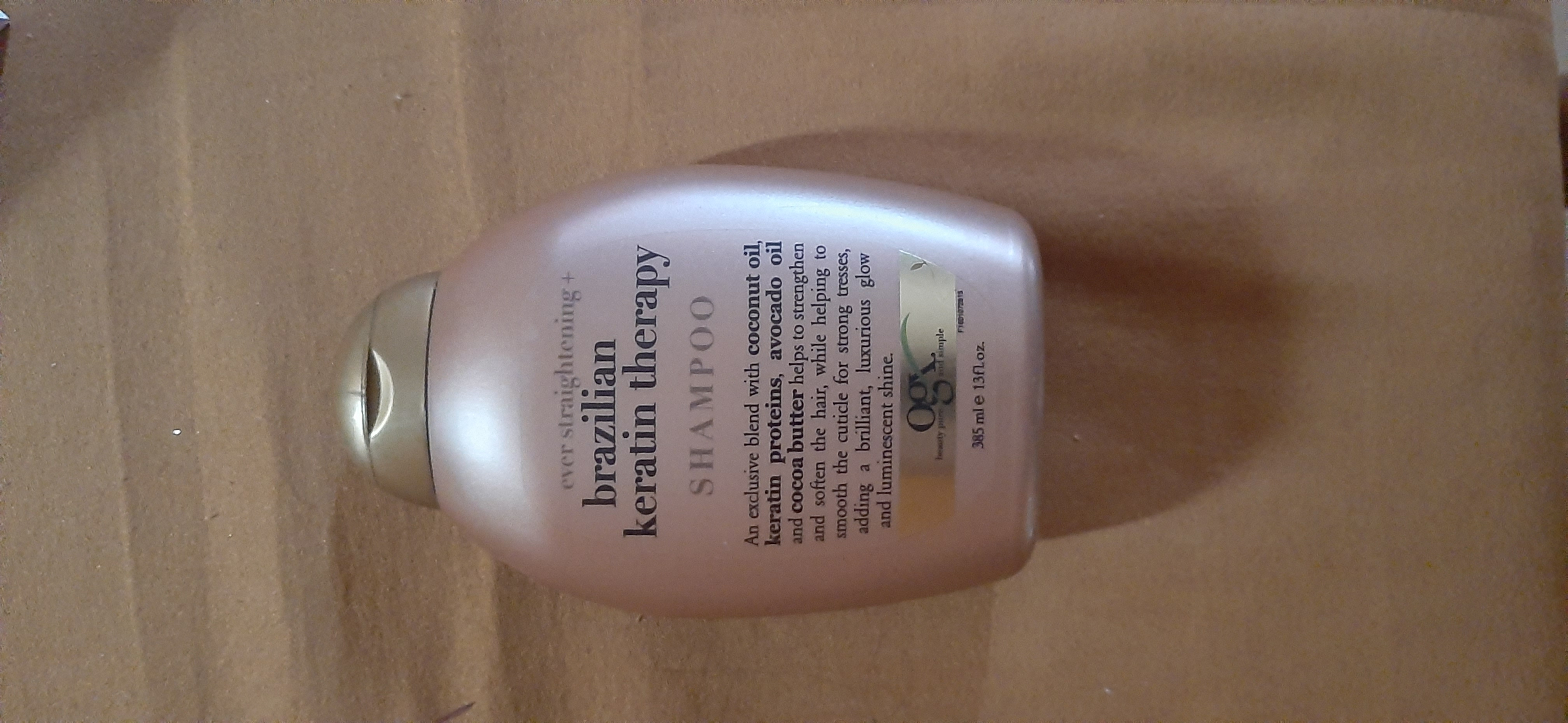 OGX Brazilian Keratin Therapy Shampoo -Defintely worth a try-By hinap
