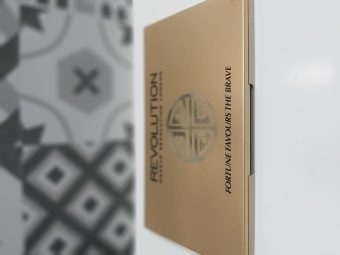 Makeup Revolution Fortune Favours The Brave 30 Eyeshadow Palette pic 3-Great shimmer shades. Value for money-By dania