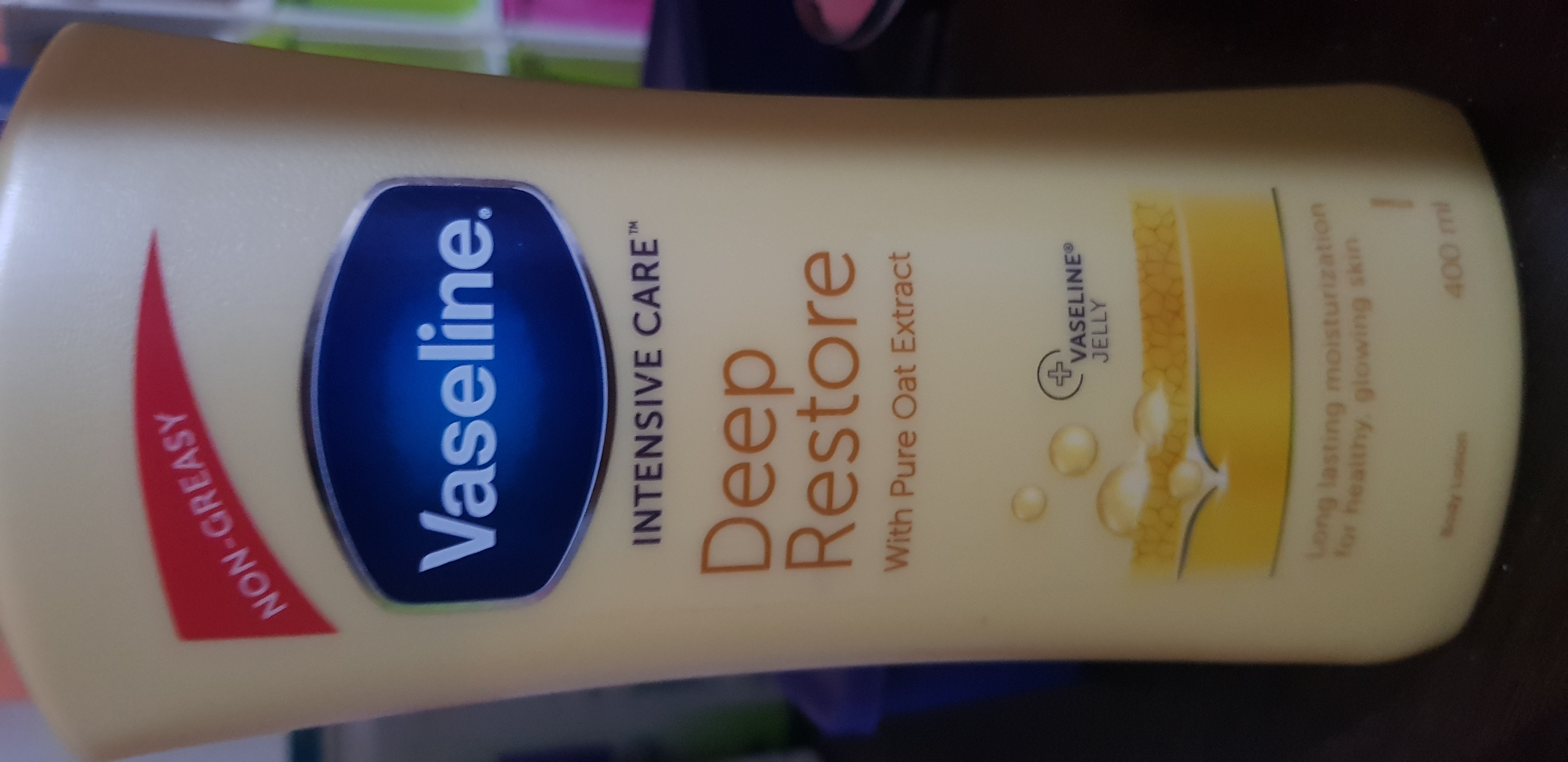 Vaseline Intensive Care Deep Restore Body Lotion-Good-By avyuktha