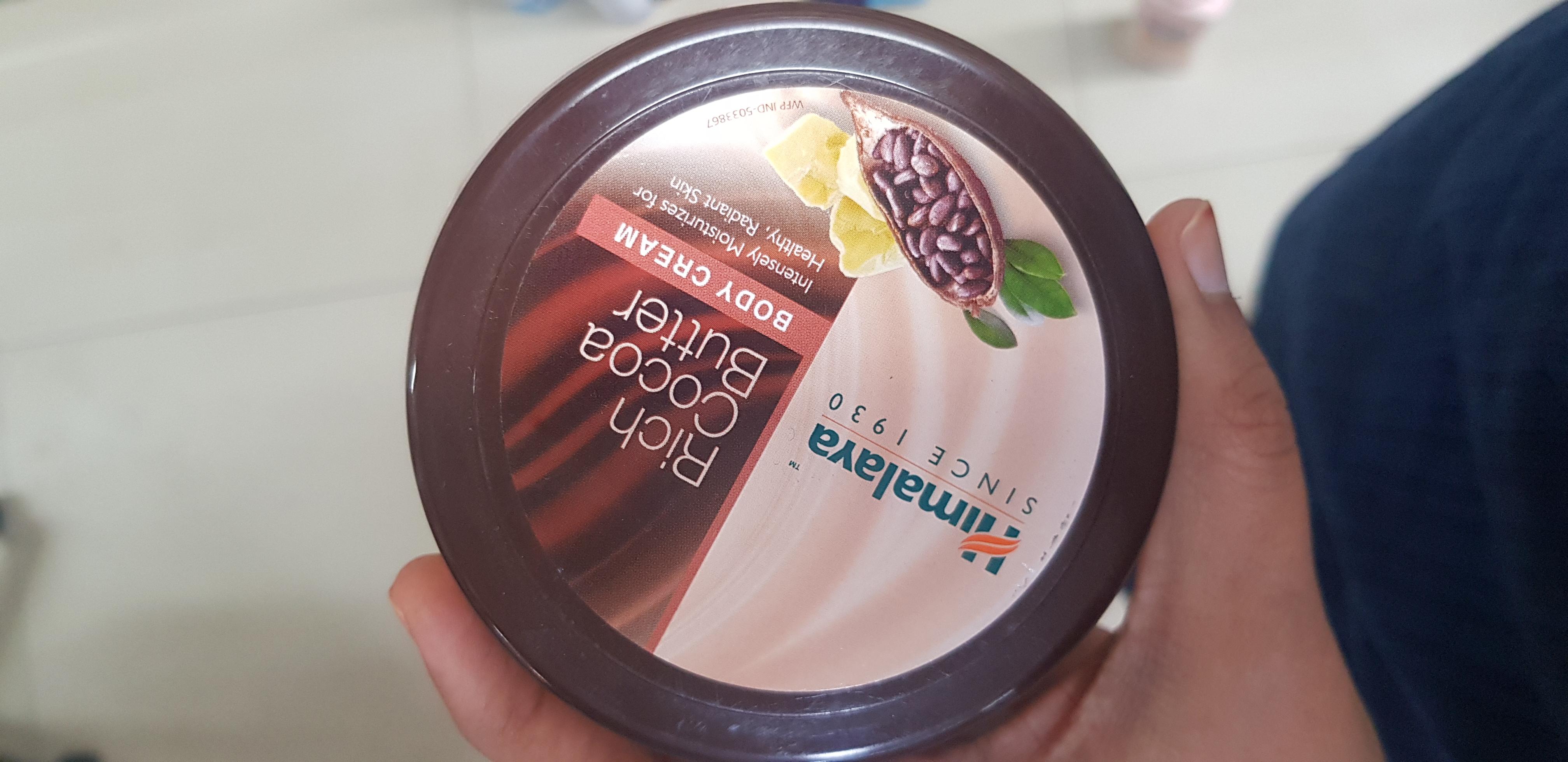 Himalaya Herbals Rich Cocoa Butter Body Cream-Coca love-By avyuktha