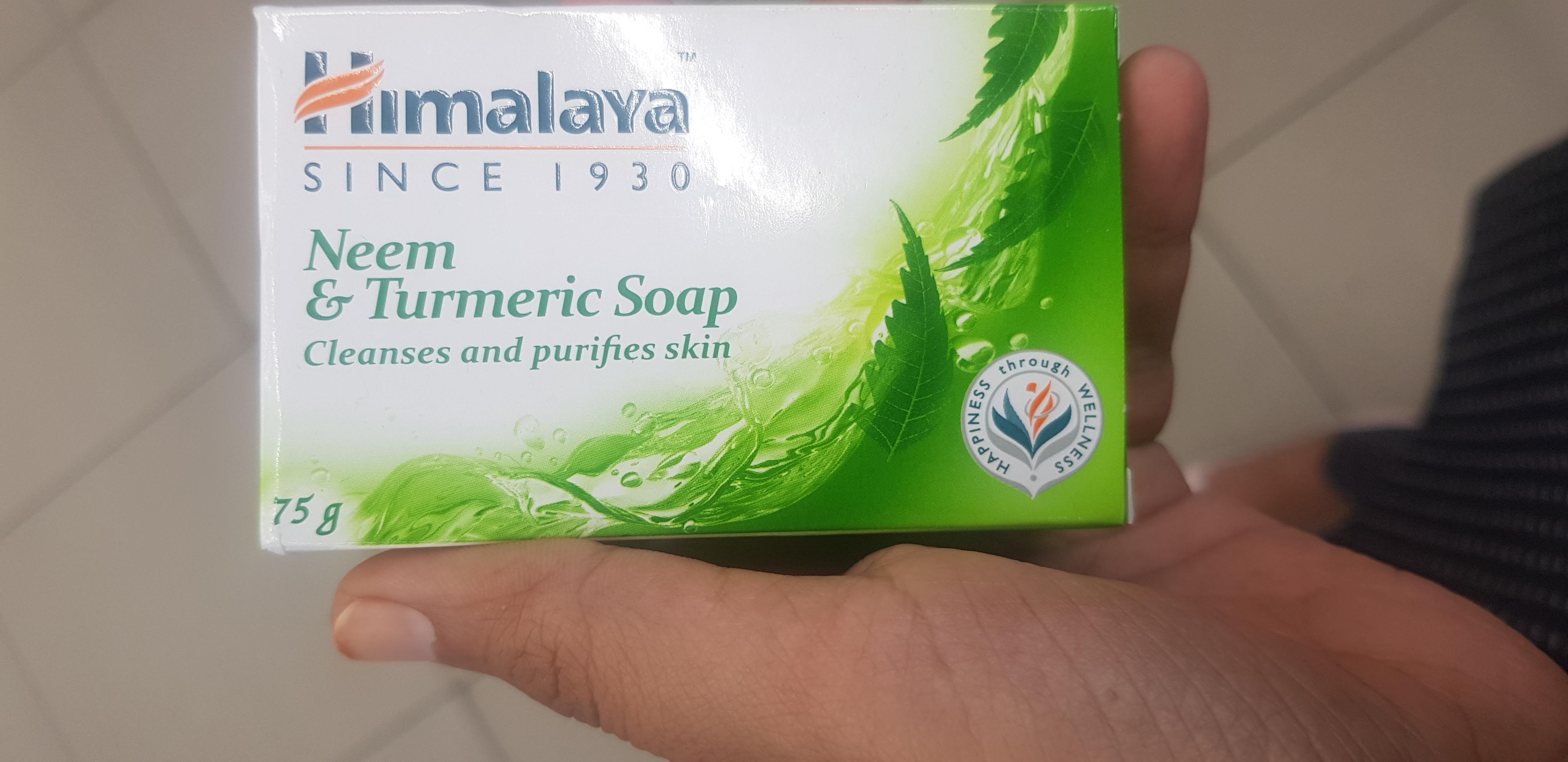 Himalaya Herbals Neem And Turmeric Soap-Neem and turmeric soap-By avyuktha