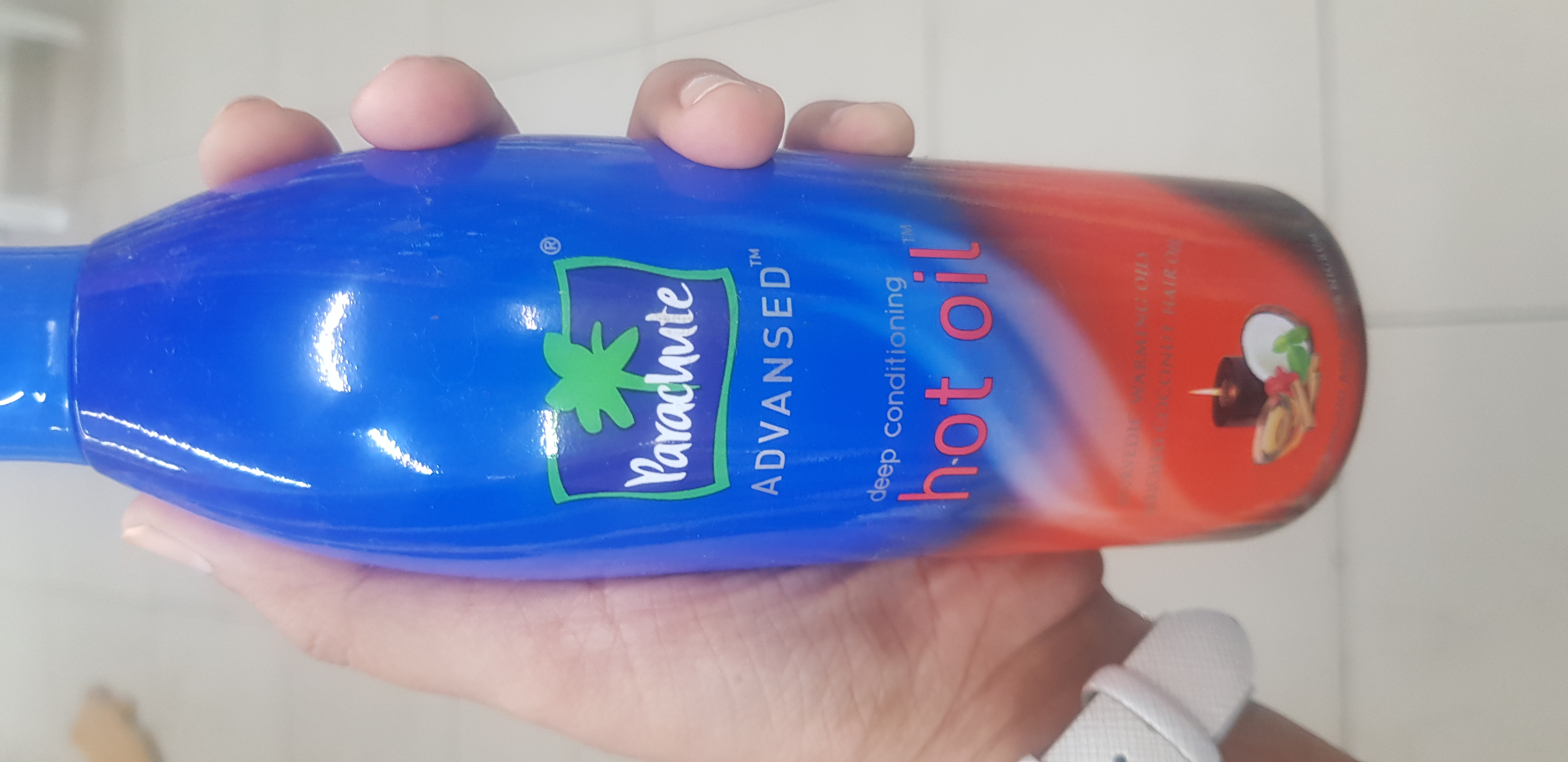 Parachute Advansed Ayurvedic Hot Oil-Best for winters-By avyuktha
